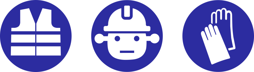 Hard hat area: The Bot at work